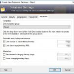 KeePass Setting Advanced