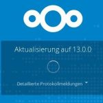 Nextcloud 13 Update