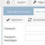 openmediavault - Installation - Admin