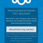 Nextcloud 13.0.1 Web-Updater