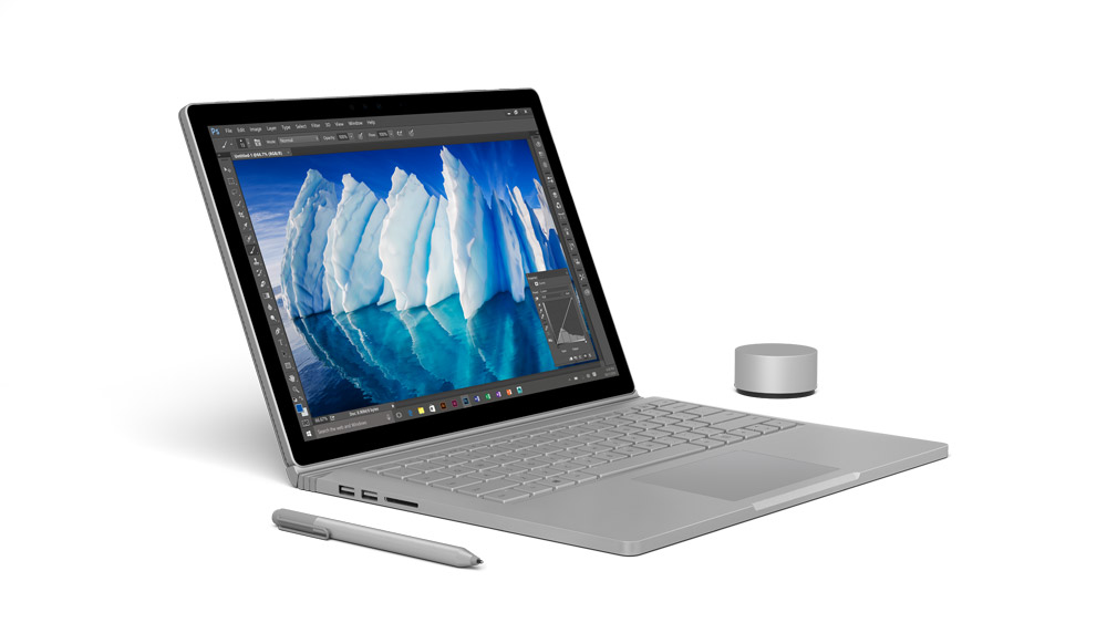 Microsoft Surface mit Stift & Dial