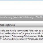 Windows 10 Aufgabenplanung Neu