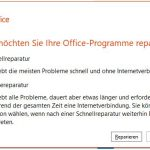 Windows 10 Apps Office 2016 Repair