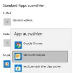 Windows Standard App Outlook