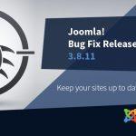 Joomla 3.8.11 Update
