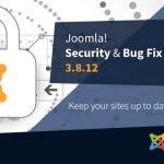 Joomla Update 3.8.12