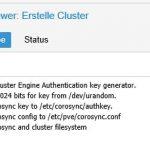 Proxmox VE 5.2 Cluster Corosync