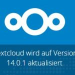 Nextcloud 14.0.1 Update