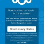 Nextcloud 14.0.2 Update