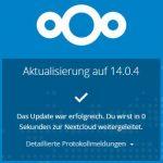 Nextcloud 14.0.4 Update