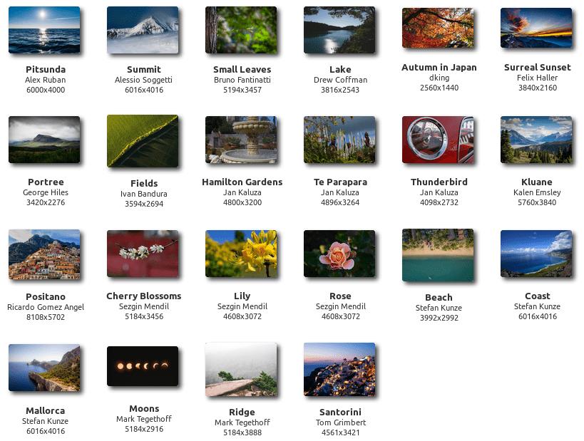 Linux Mint 19.1 Hintergrund