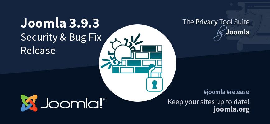 Joomla 3.9.3 Update