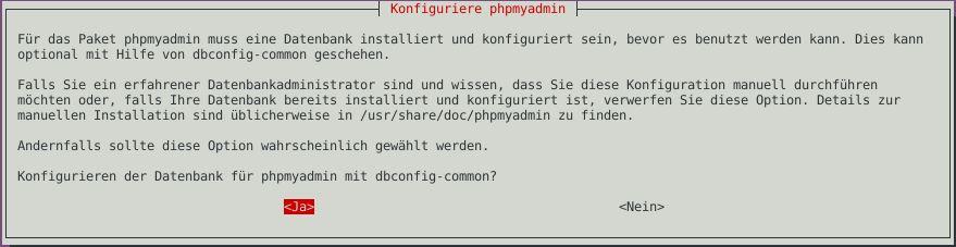 Ubuntu ISPConfig PHPMyAdmin