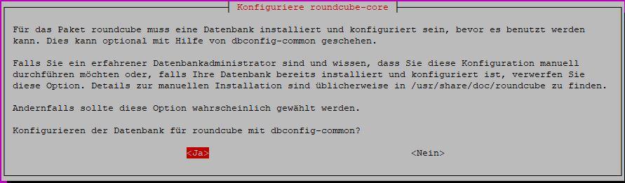 Ubuntu ISPconfig Roundcube