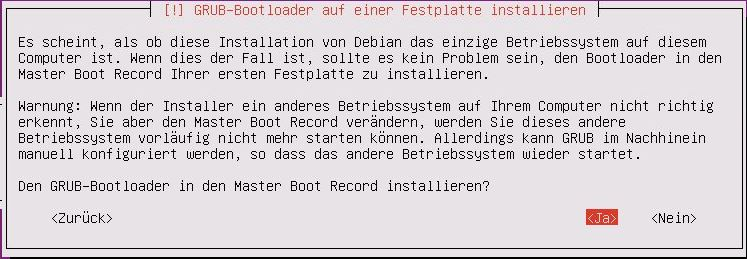 Ubuntu Server Installation - Ubuntu Server Installation - Bootloader