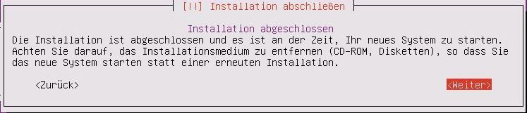 Ubuntu Server Installation - Ubuntu Server Installation - Finish