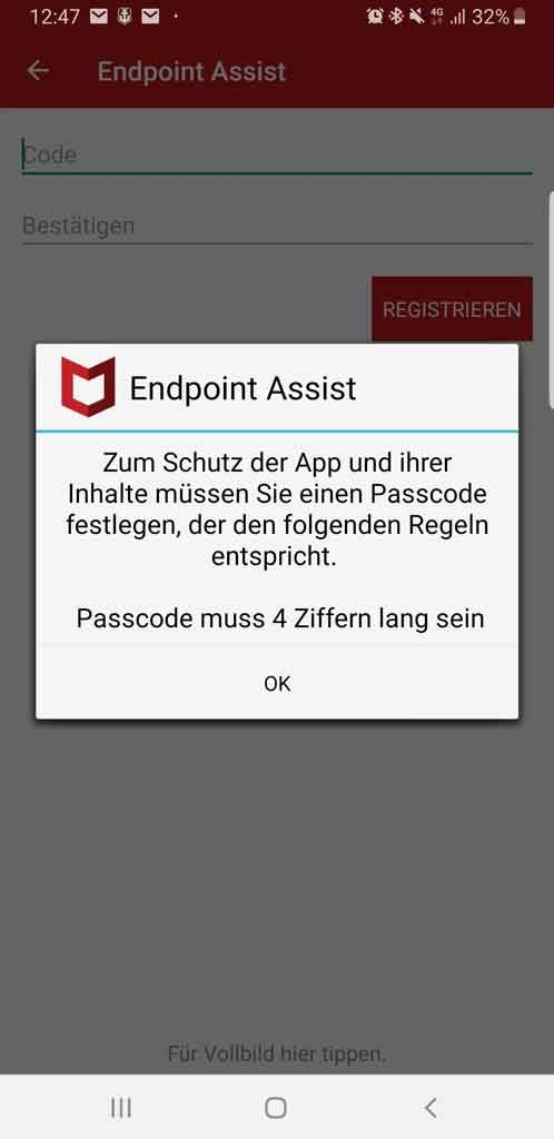 McAfee Endpoint Assistant Scan 1