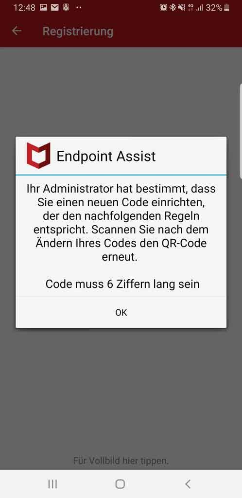 McAfee Endpoint Assistant Scan 3