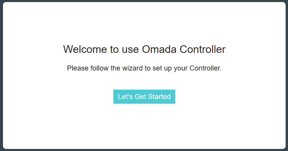 TP-Link Omada Controller Install