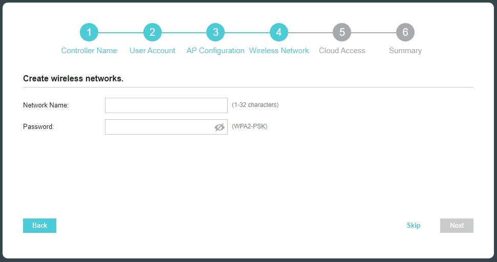 TP-Link Omada Controller Install Networkname