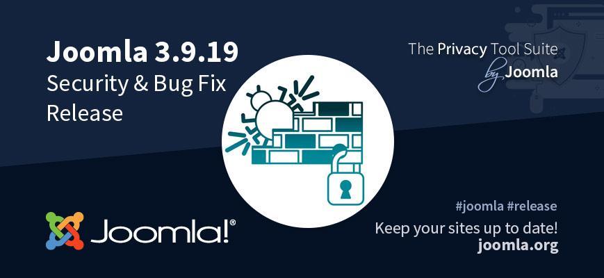 Joomla 3.9.19 Release