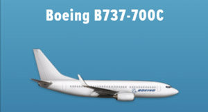 Boeing B737-700C