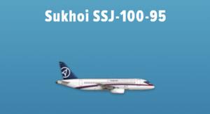 Sukhoi SSJ-100-95